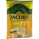 Jacobs 3в1 Latte instant coffee 56*13g