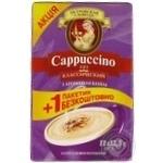 Напиток кофейный Петровская Слобода Cappuccino 3в1 Классический с ароматом ванили 10шт * 12.5г