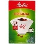 Filter Melitta white paper for coffee 40pcs