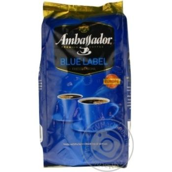 Кофе Ambassador Blue Label в зернах 1кг