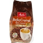 Natural roasted coffee beans Melitta BellaCrema LaCrema 100% Arabica 1000g Germany