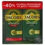 Кофе молотый Jacobs Monarch Classic + Intense 2*225г