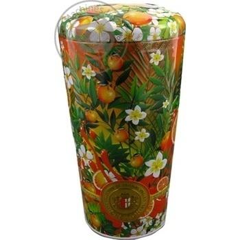 Чай зеленый Chelton Ваза солнечный фруктовый листовой жестяная банка 100г - купить, цены на Novus - фото 2