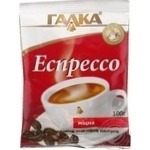Natural ground roasted strong coffee Galka Espresso 100g