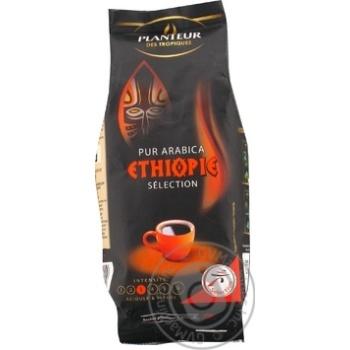 Кофе Плантер де Тропик Селект Эфиопия 100% арабика натуральный жареный молотый 250г Франция - купить, цены на Novus - фото 1