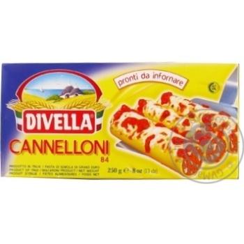 Макарони Divella Cannelloni semola 250г