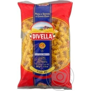 Pasta fusilli Divella Private import 500g
