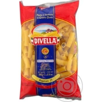 Макаронные изделия Divella Rigatoni №17 500г