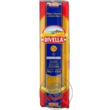 Pasta spaghetti Divella Private import 500g sachet