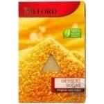Цукор Milford десертний тростинний 500г