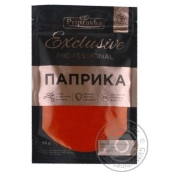 Pripravka Exclusive Professional ground paprika 60g
