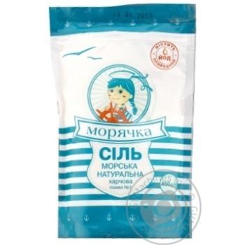 Сіль Морячка морська натуральна харчова 450г - купити, ціни на Novus - фото 1