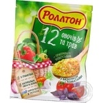 Rollton 12 vegetables and herbs with basil and tomato spices 60g