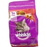 Корм сухий Whiskas для дорослих котів з яловичиною 300г - купити, ціни на Novus - фото 4
