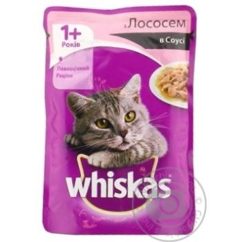 Whiskas With Salmon In Sause For Adult Cats Food - buy, prices for Furshet - image 4