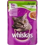 Whiskas With Lamb Meat In Jelly For Cats Food