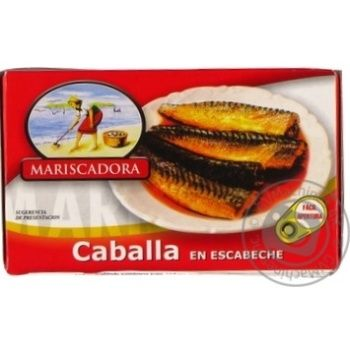 Скумбрія в іспанському соусі Mariscadora ж/б 125мл