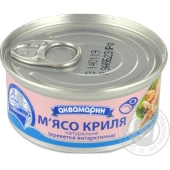 Мясо криля Аквамарин натуральное ключ 100г - купить, цены на Novus - фото 2