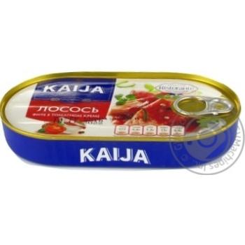 Kaija in tomato-cream salmon 170g