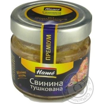 Свинина Hame тушеная с/ б 170г