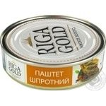 Ryzhske Zoloto Sprats Pate - buy, prices for Novus - image 1