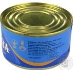 Сардини Морской Пролив натуральные с добавлением масла 240г - купить, цены на Фуршет - фото 3