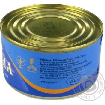 Сардини Морской Пролив натуральные с добавлением масла 240г - купить, цены на Novus - фото 3