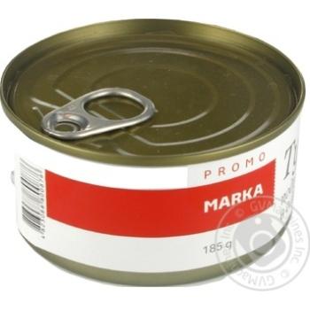 Тунець подрібнений в олії Marka Promo 185г - купити, ціни на Novus - фото 2