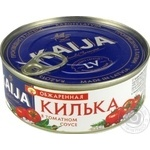 Fish sprat Kaija in tomato sauce 240g can