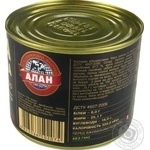 Meat Alan pork with buckwheat canned 525g - buy, prices for Novus - image 2
