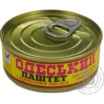 Паштет Онисс Одесский со сливочным маслом 100г