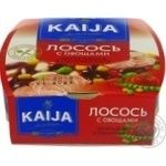 Fish salmon Kaija with vegetables in tomato sauce 220g