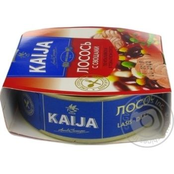 Kaija Salmon with Vegetables in Tomato Sauce 220g - buy, prices for MegaMarket - image 4