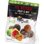 Фіт-кульки SDA фруктово-горіхові Інжир-Волоські горіхи-Насіння Чіа без цукру 144г