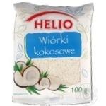 Кусочки кокоса Helio 100г