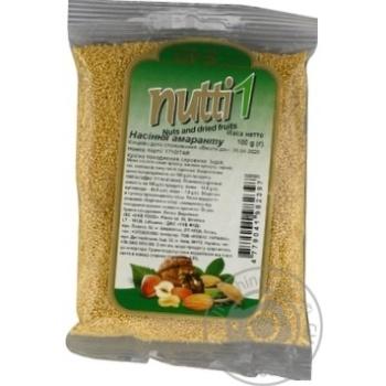 Насіння  амаранта Nutti 100г - купить, цены на Novus - фото 2