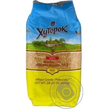 Khutorok Wheat Grain 800g - buy, prices for Novus - image 1