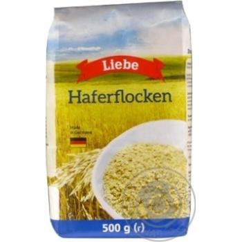 Пластівці вівсяні Liebe 500г