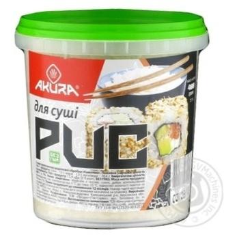 Groats rice Akura for preparing sushi 400g