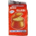 Рис Ellebi Parboiled пропаренный 500г