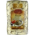 World's Rice long grain white and wild rice 500g