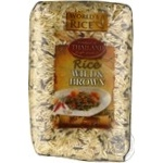World's Rice long grain brown and wild groats rice 500g