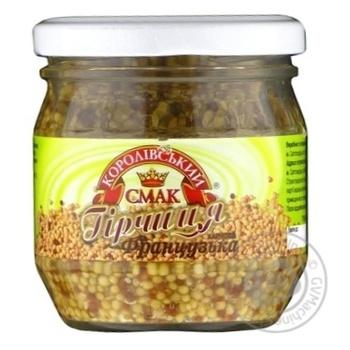 Mustard Korolivsky smak 180g