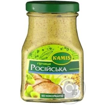 Горчица Камис русская 180г