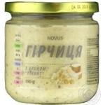 Mustard Novus with horse-radish 190g
