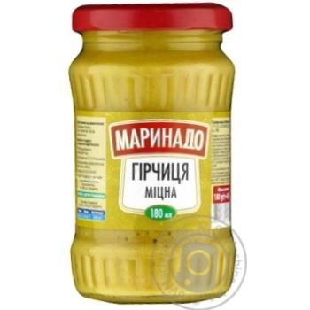 Горчица Маринадо крепкая 180мл