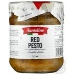 Соус песто Red Pesto Santolino с/б 212мл