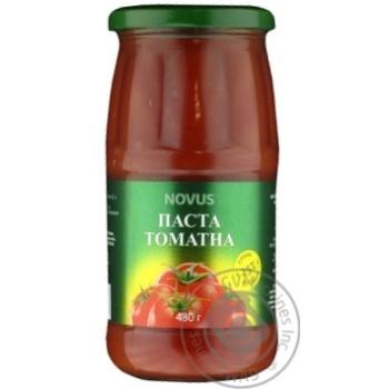 Паста томатна 25% Novus 480г
