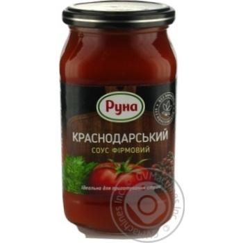 Runa Krasnodarskiy Brand Tomato Sauce 485g - buy, prices for Novus - image 1