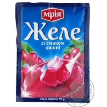 Желе Мрия со вкусом вишни 90г